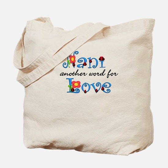 Nani Love Tote Bag