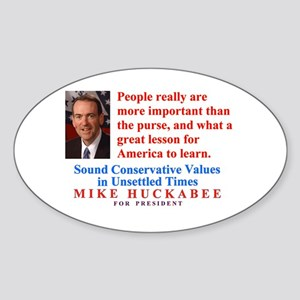 Huckabee for President, People are Important Stick