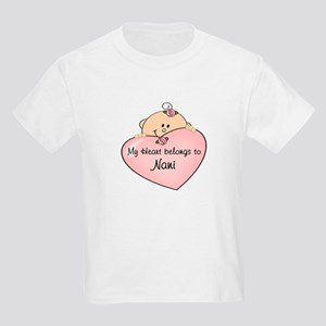 Heart Belongs to Nani Kids Light T-Shirt