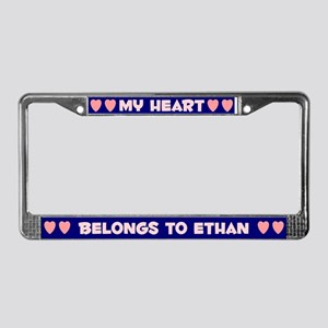 My Heart: Ethan (#008) License Plate Frame