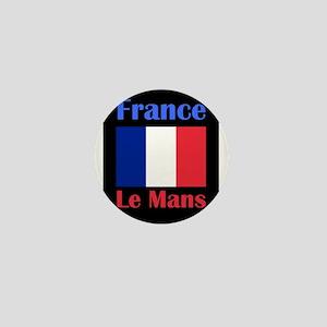 Le Mans France Mini Button