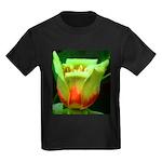 Tulip Poplar Flower Kids Dark T-Shirt