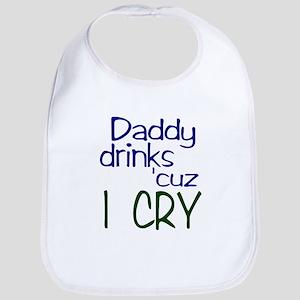 Dady Drinks Bib
