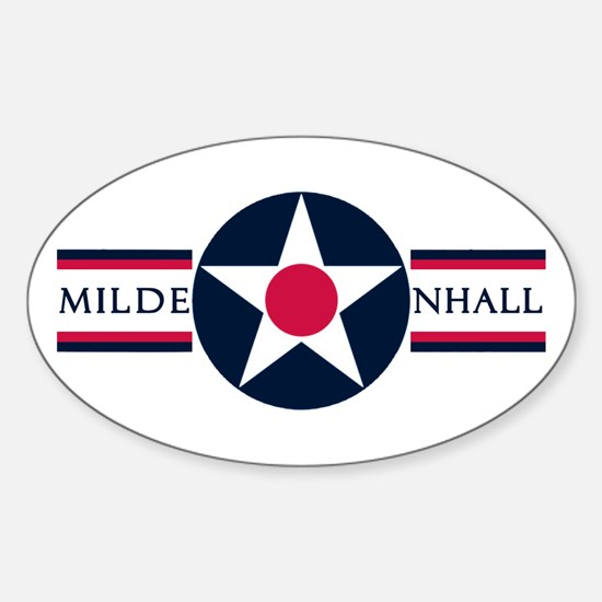 RAF Mildenhall Oval Decal