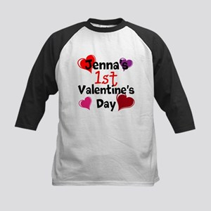 First Valentine Baseball Jersey