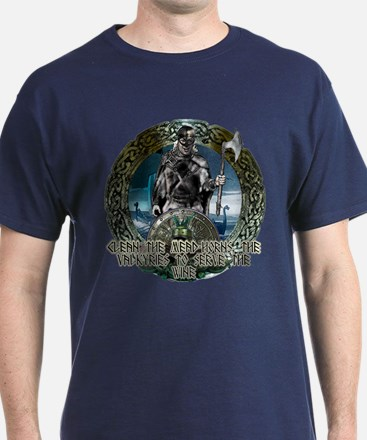 Viking Victory Drink from the gods T-Shirt