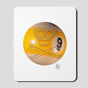 Skull & Crossbones 9-ball Mousepad