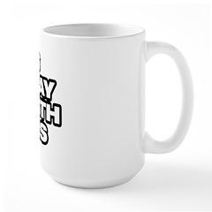Doesn' Play Well Large Mug