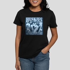 Huskies - The Ultimate Dogs Women's Dark T-Shirt