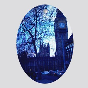 Houses of Parliament Oval Ornament