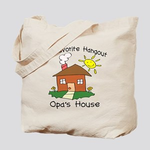 Favorite Hangout Opa's House Tote Bag