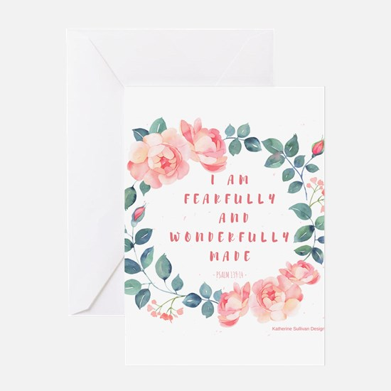 Fearfully & wonderfully made Greeting Cards