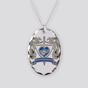 FPCA Crest Necklace Oval Charm
