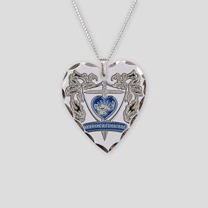 FPCA Crest Necklace Heart Charm