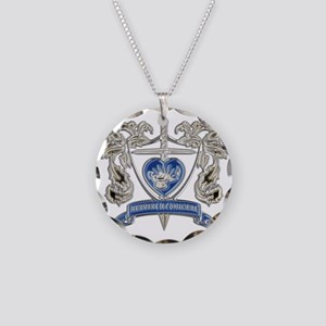 FPCA Crest Necklace Circle Charm