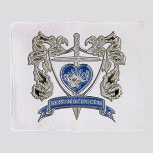 FPCA Crest Throw Blanket