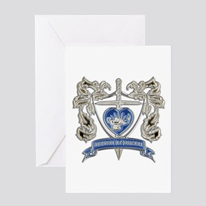 FPCA Crest Greeting Cards