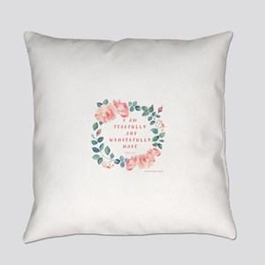 Fearfully & wonderfully made Everyday Pillow