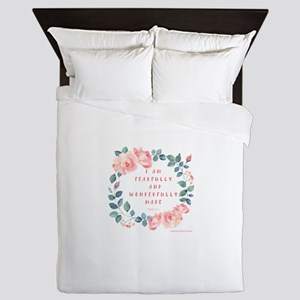 Fearfully & wonderfully made Queen Duvet