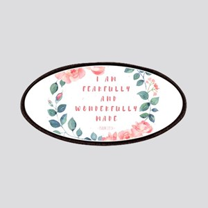 Fearfully & wonderfully made Patch