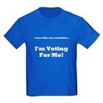 Vote For Me! Kids Dark T-Shirt