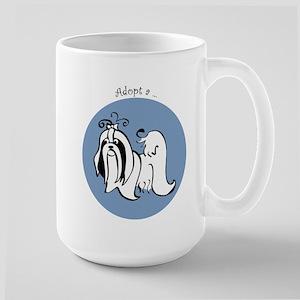 Adopt a Shih Tzu Large Mug