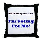Vote For Me! Throw Pillow