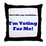 Vote For Me! Throw Pillow