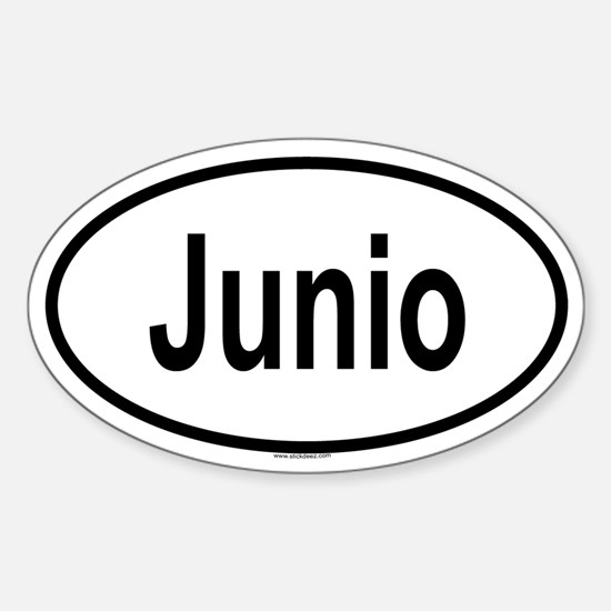 JUNIO Oval Decal
