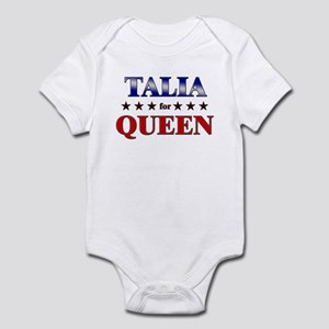 TALIA for queen Infant Bodysuit