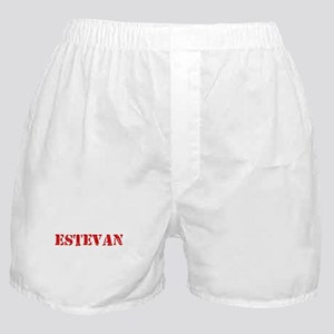 Estevan Rustic Stencil Design Boxer Shorts