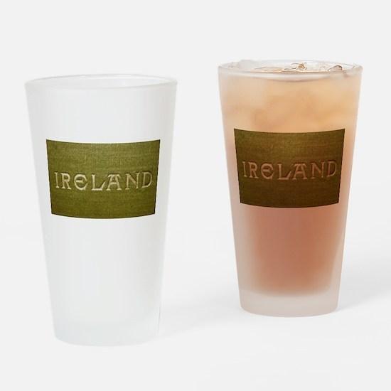 Ireland Gilded Linen Drinking Glass