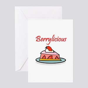 Berrylicious Greeting Card