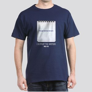Support the Writers Dark T-Shirt
