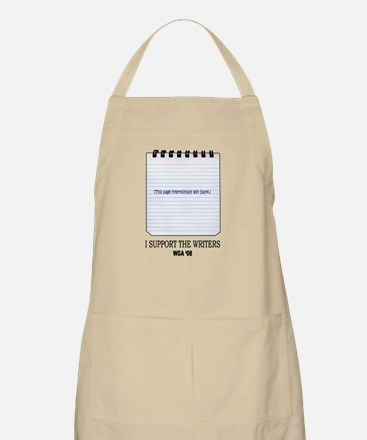 Support the Writers BBQ Apron