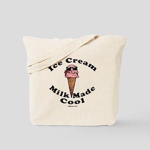 Ice Cream Milk Made Cool Tote Bag