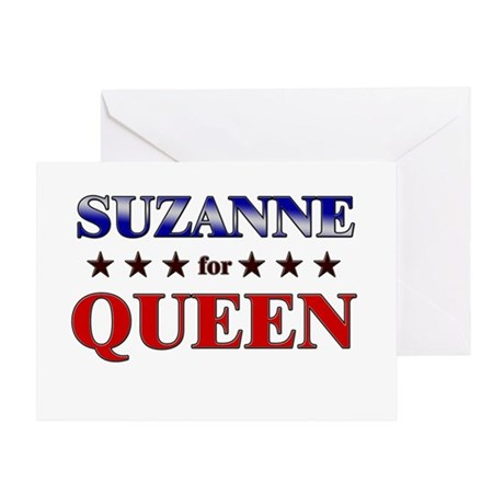 SUZANNE for queen Greeting Card