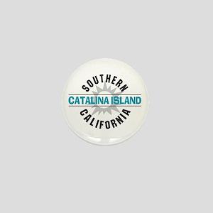 Catalina Island California Mini Button