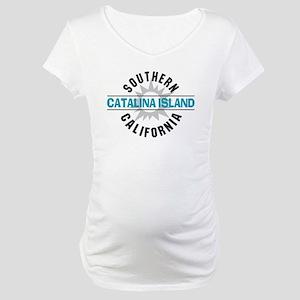 Catalina Island California Maternity T-Shirt