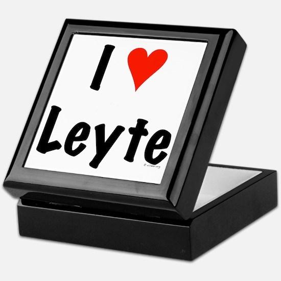 I love Leyte Keepsake Box