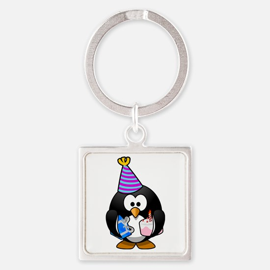 Party Penguin Cute Cartoon Keychains