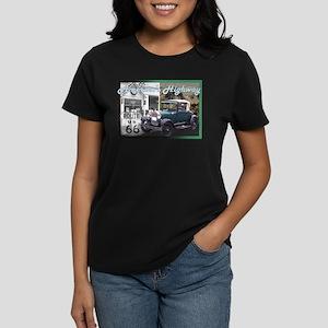 ROUTE 66 CLASSIC Women's Dark T-Shirt