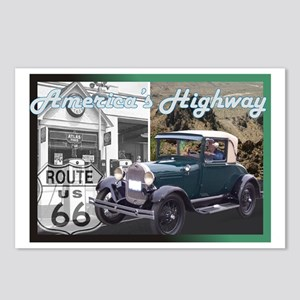 ROUTE 66 CLASSIC Postcards (Package of 8)