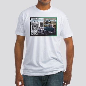 ROUTE 66 CLASSIC Fitted T-Shirt
