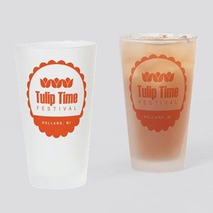 Tulip Time Seal Drinking Glass