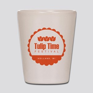 Tulip Time Seal Shot Glass