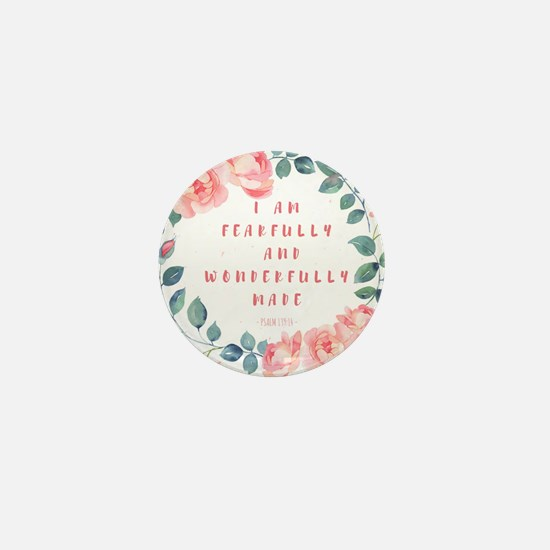 Fearfully & wonderfully made Mini Button