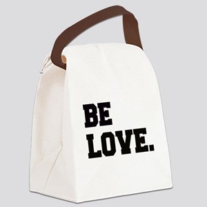 Be Love-Drk Canvas Lunch Bag