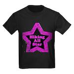 Hiking All Star Kids Dark T-Shirt