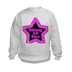 Hiking All Star Kids Sweatshirt